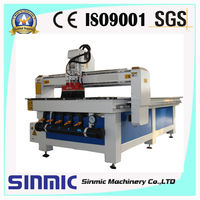 1300*2500mm cnc wood router 1325 with stepper motor and driver,dsp control system,square orbit,water or air cooling spindle