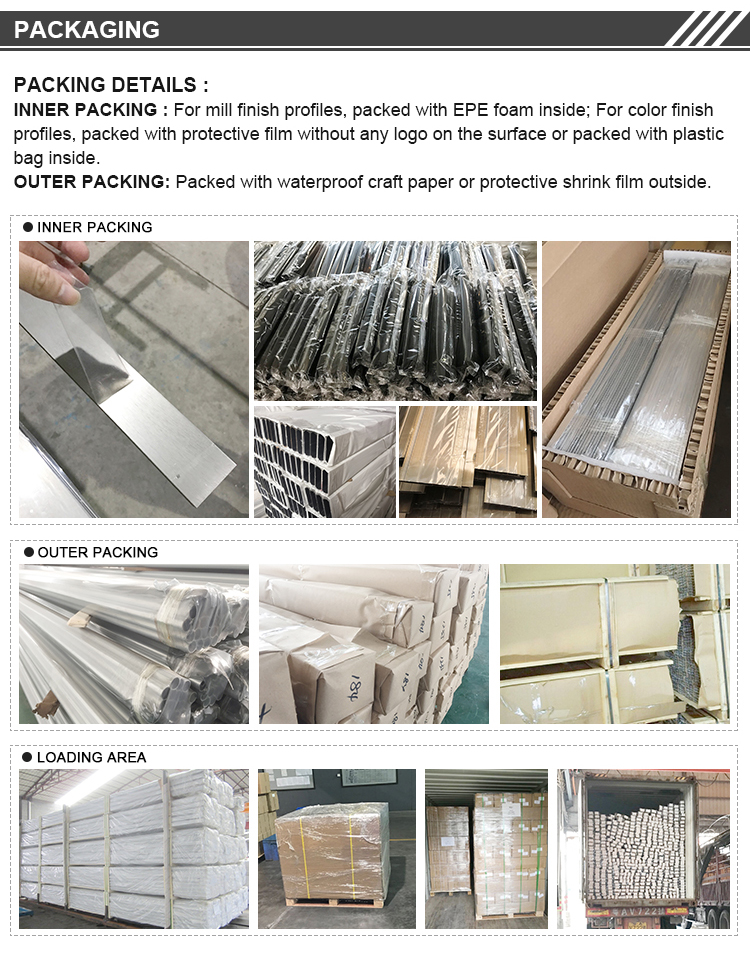 Best price & quality foshan aluminum extrusion roller rail  profiles track for sliding window and door