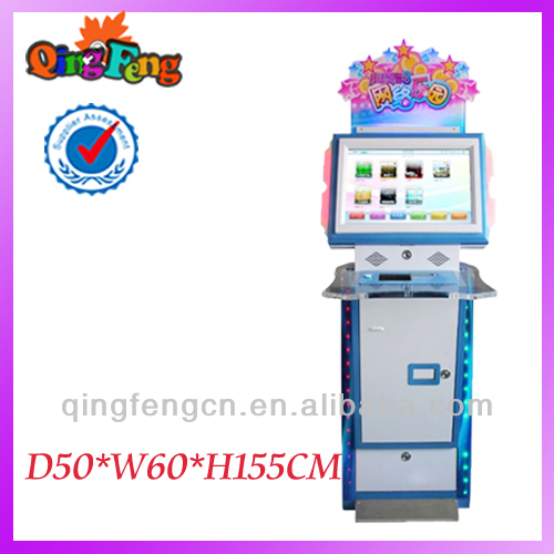 Qingfeng single player indoor games machine on sale touch screen game board