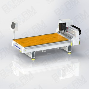 Cheap cnc metal router engraver for aluminum cooper BCM1325A Plus ATC
