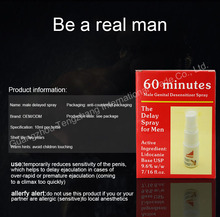 Male Delay Spray 60 Minutes Long Quick Extended Male Sex Time Prevents Premature Ejaculation Sex Products Man Penis Enlargement
