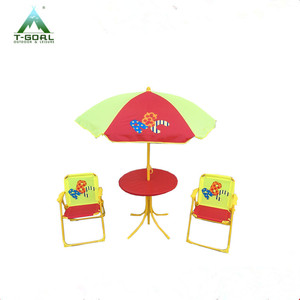 4pcs outdoor animal kids garden table and chair