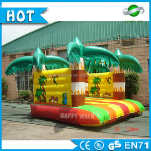 Safe kids game customized inflatable jumper bouncer,jumping house with slide for playground or amusement park