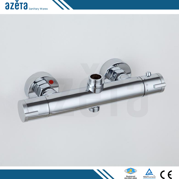 Hot And Cold Water Automatic Temperature Controller Wall Mounted Thermostatic Bath Shower Mixer