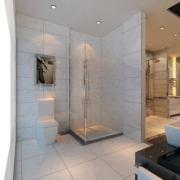 Good Wholesale High Gloss Non Slip Bathroom Polished Marble Stone Floor Tiles