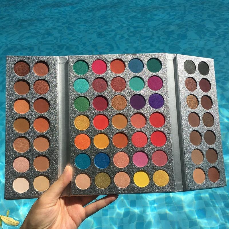 Alibaba.com / Beauty Glazed Makeup Vegan Eye Shadow High Pigment Eyeshadow Palette