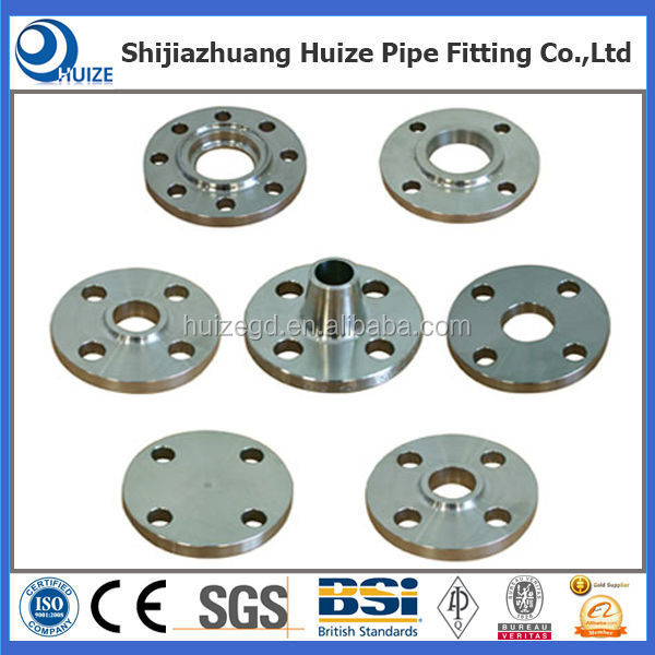 ANSI B 16.5 DN 50 CL300 Pipe Stainless Steel Puddle Flange Pipe Collar