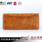 Wallet New Men's Genuine Leather Bifold Long Wallet Leather Money Purse Card Holder