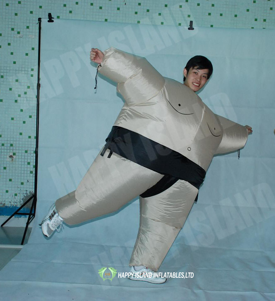 HI 0.45mmPVC high quality sumo wrestling suit,Inflatable sport game