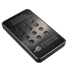 Beautiful Gift New Encrypted USB 3.0 HDD Hard Drive External Enclosure 2.5 Inch SATA Case AES Lock Free Shipping Jan28