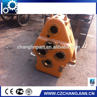 anti-rust yellow painted reduction gear box for wheel loader