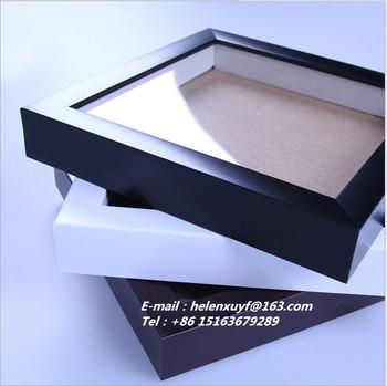 factory wholesale art 3d box frame deep wooden photo frame shadow box frame - Wholesale Art Frames
