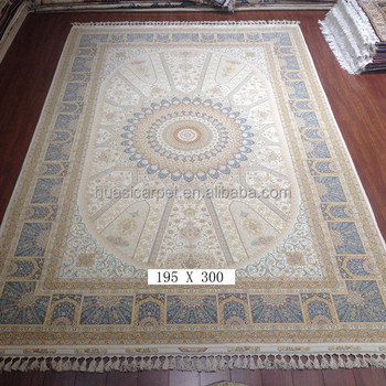 2x3m Hand Tufted Wool Rugs Hand Woven Wool Silk Carpet From India