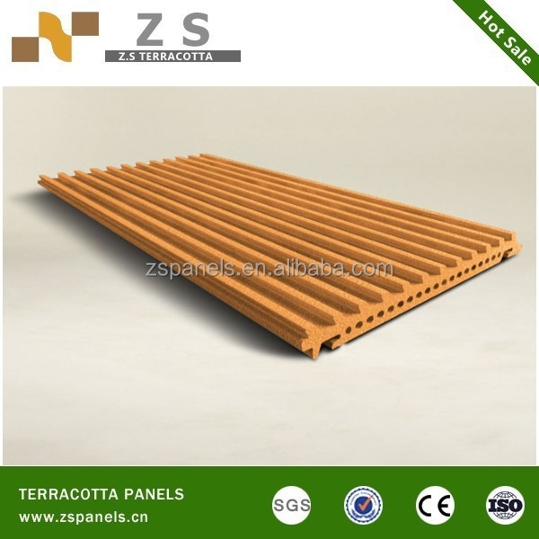 External building wall cladding grooved wood paneling for walls