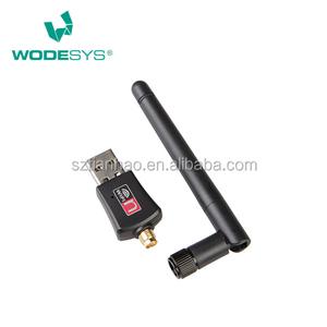 USB2 0 300M Realtek 8192EU Wireless WiFi USB Adapter with 2dBi SMA Antenna
