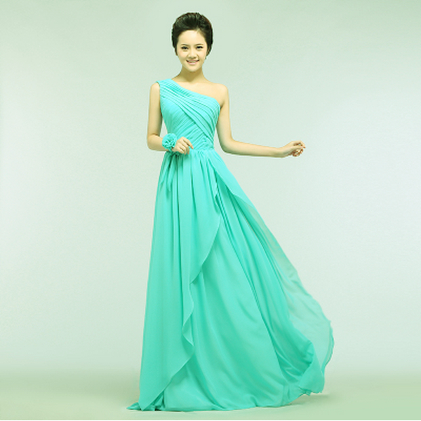 long elegant turquoise womens green formal fitted prom ...
