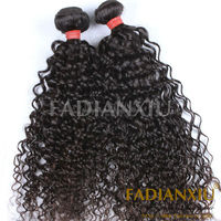 Beautiful and healthy Peruvian afor kinky curly human hair #1b color no any lices