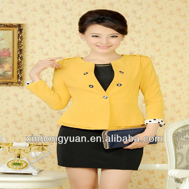 office lady perfashional Uniform for bank & hotel,blouses