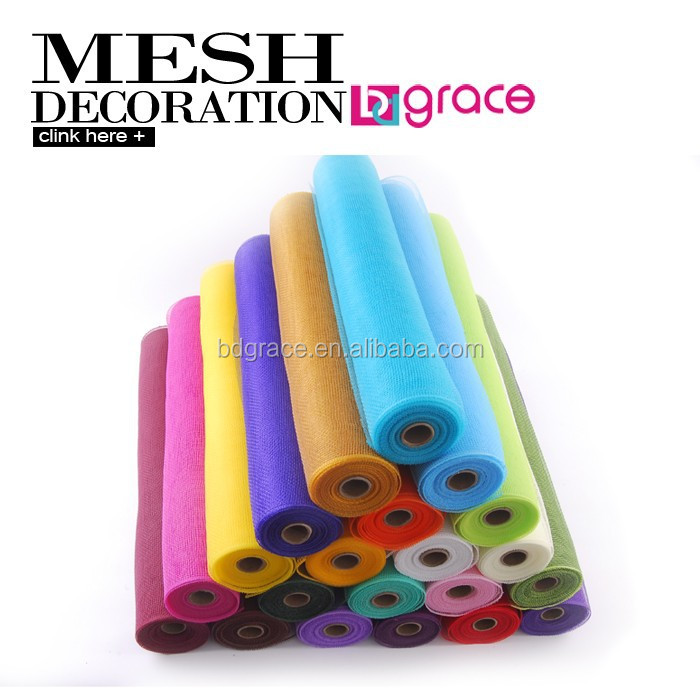 hot China products wholesale Packaging Materials deco poly mesh