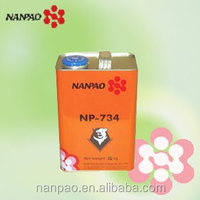NANPAO Yellow Transparent solvent based Chloroprene rubber Glue For Woodworking