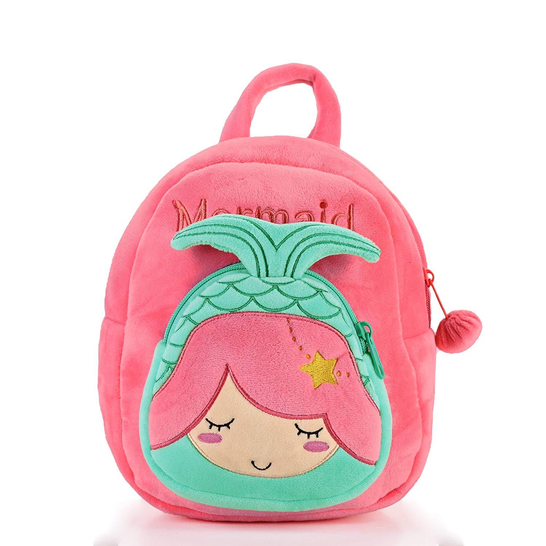 Gloveleya Kids Plush Backpack Toddler Diaper Bags Kindergarten Bag For  Little Children(12-36M 1f33e06643