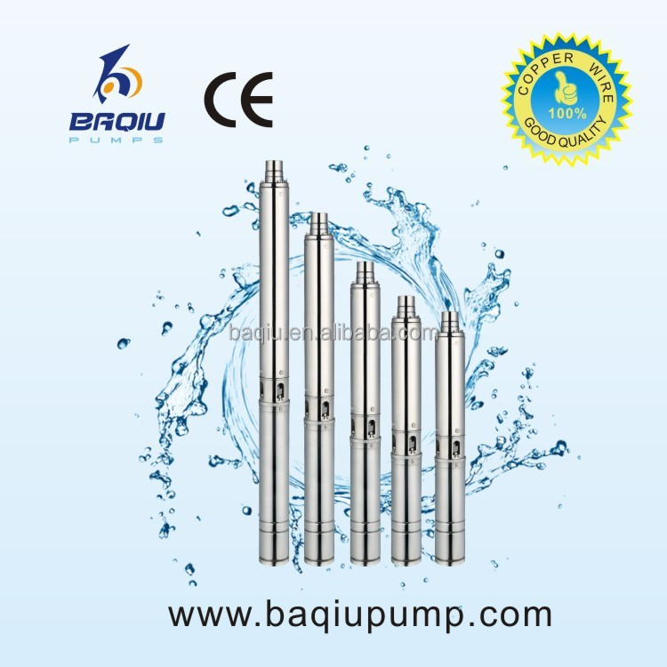 Electric Centrifugal Submersible Stainless Steel Deep Well Water Pump 5.5HP