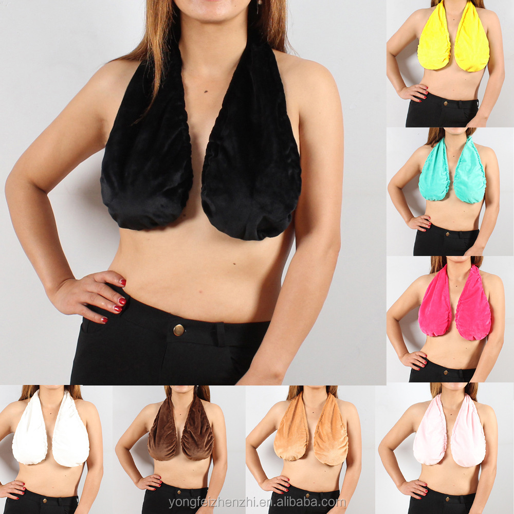 Women Sexy Soft Ta-Ta Towel Bra Boob Sweat Towel Fashion Women Sexy Comfortable Soft underwear Boob Sweat Towel Plus