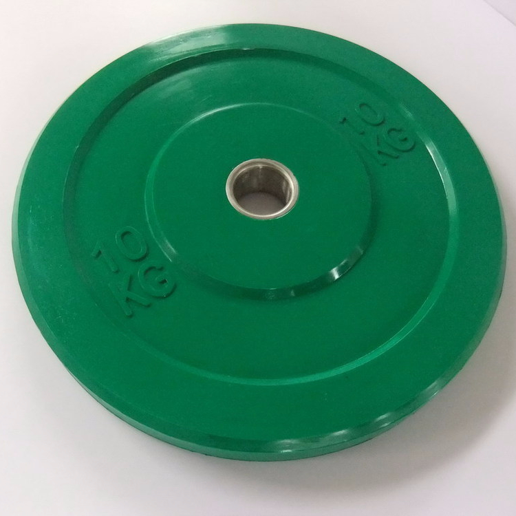 TOP Quality color Rubber Bumper Plate For <strong>Weight</strong> Lifting 20kg