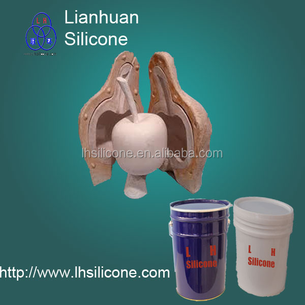 RTV -2 silicone for manual mold concrete stone, fiber, PU/poly <strong>resin</strong>, candles by