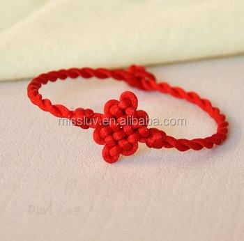 Chinese Knot Bracelet Good Luck Red String Bracelet Buy Chinese