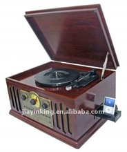Retro turntables with Ipod docking station,radio,CD player