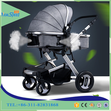 High Landscape Buggies Against The Explosion-proof Baby Cart Sitting Lying Flat Folding baby stroller 3-in-1