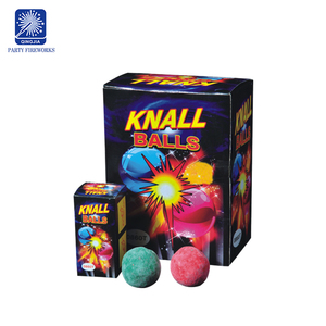 Safety novelty kid fireworks toy 1.4g un0336 fireworks Knall Balls