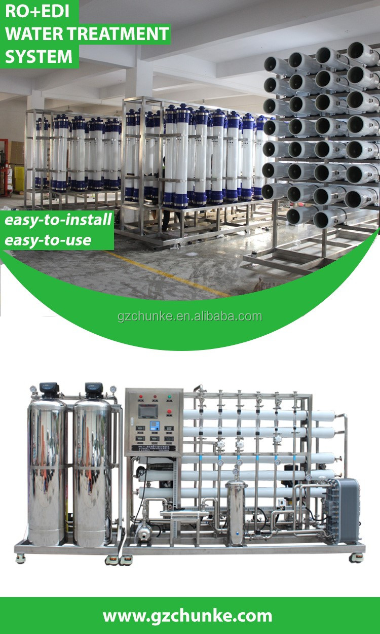 CHUNKE 1000L/H reverse osmosis drinking water system