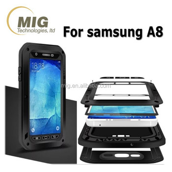 newest collection 9f6cd ca00c Cell Phone Case New Product Love Mei Powerful Case For Samsung Galaxy  A8,Shockproof Waterproof Rugged Gorilla Metal Case - Buy Cell Phone  Case,For ...