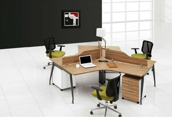 Modern Unique Office Staff Table For 3 People Buy Office Staff