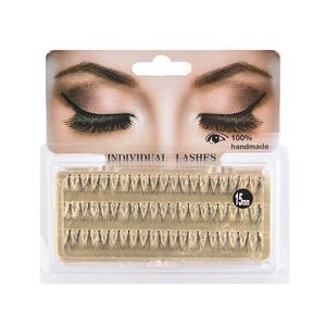Wholesale price supplies korean volume private label 3d mink cluster individual eyelash extensions