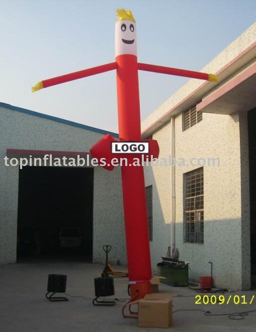 Air dancer inflatable fire sky man dancing man on sale