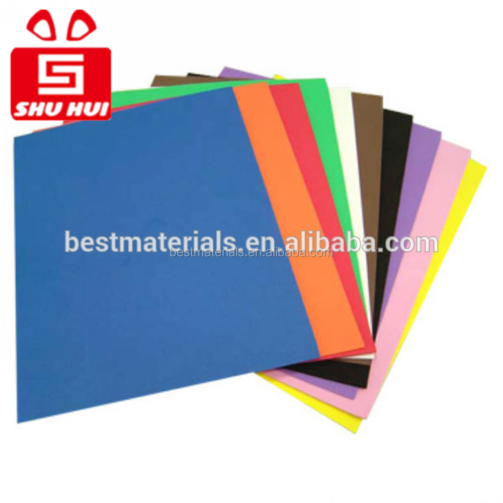 Polyethylene foam sheet 2015 hot wholesale mix color biodegradable eva foam