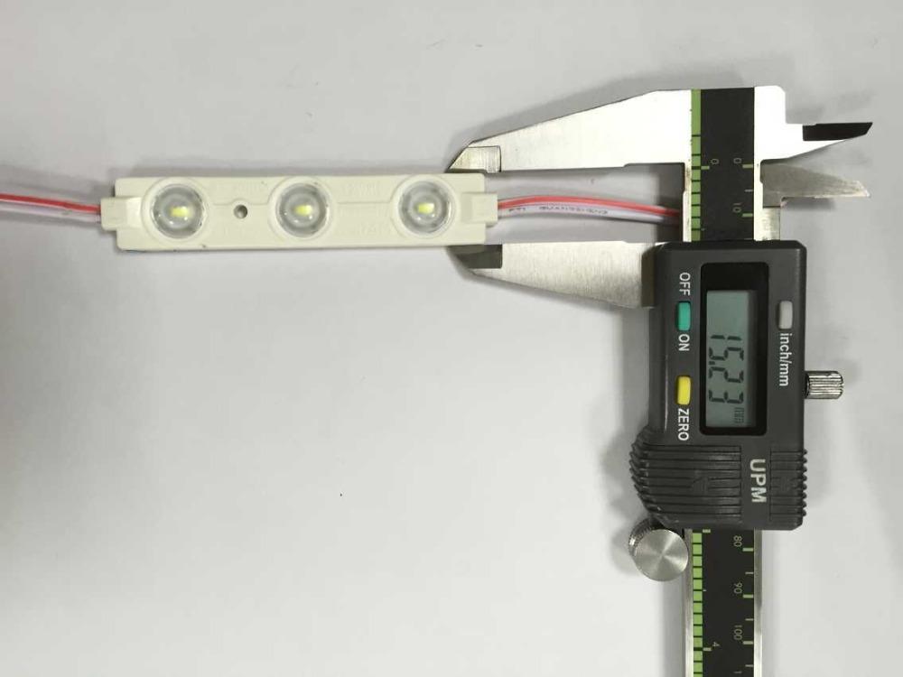 Iluminación decorativa de alta potencia DC12V SMD5730 1,2 w LED módulo de lente,