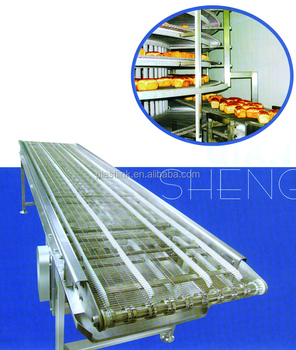 Plast Link Cookie and Bread cooling stainless steel wire mesh conveyor belt