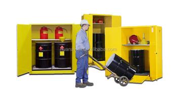 Armadio di stoccaggio barile di petrolio liquidi infiammabili armadi