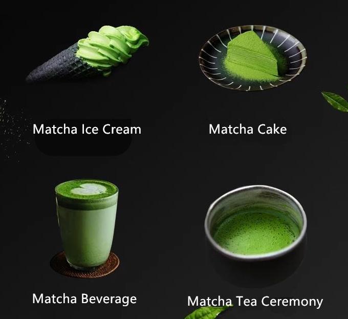 100% pure organic matcha green tea powder free sample - 4uTea   4uTea.com