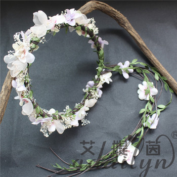 Beauty Bridal Indian Fresh Custom Artificial Flowers Garland