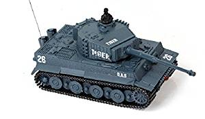 Lowpricenice New Mini 1:72 49mhz R/c Radio Remote Control Tiger Tank 20m Kids Toy Gift
