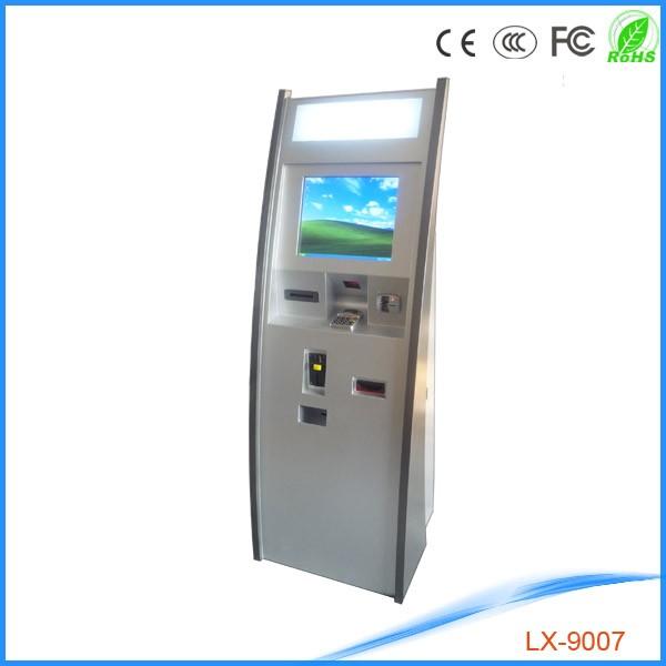 kiosk ticket machine