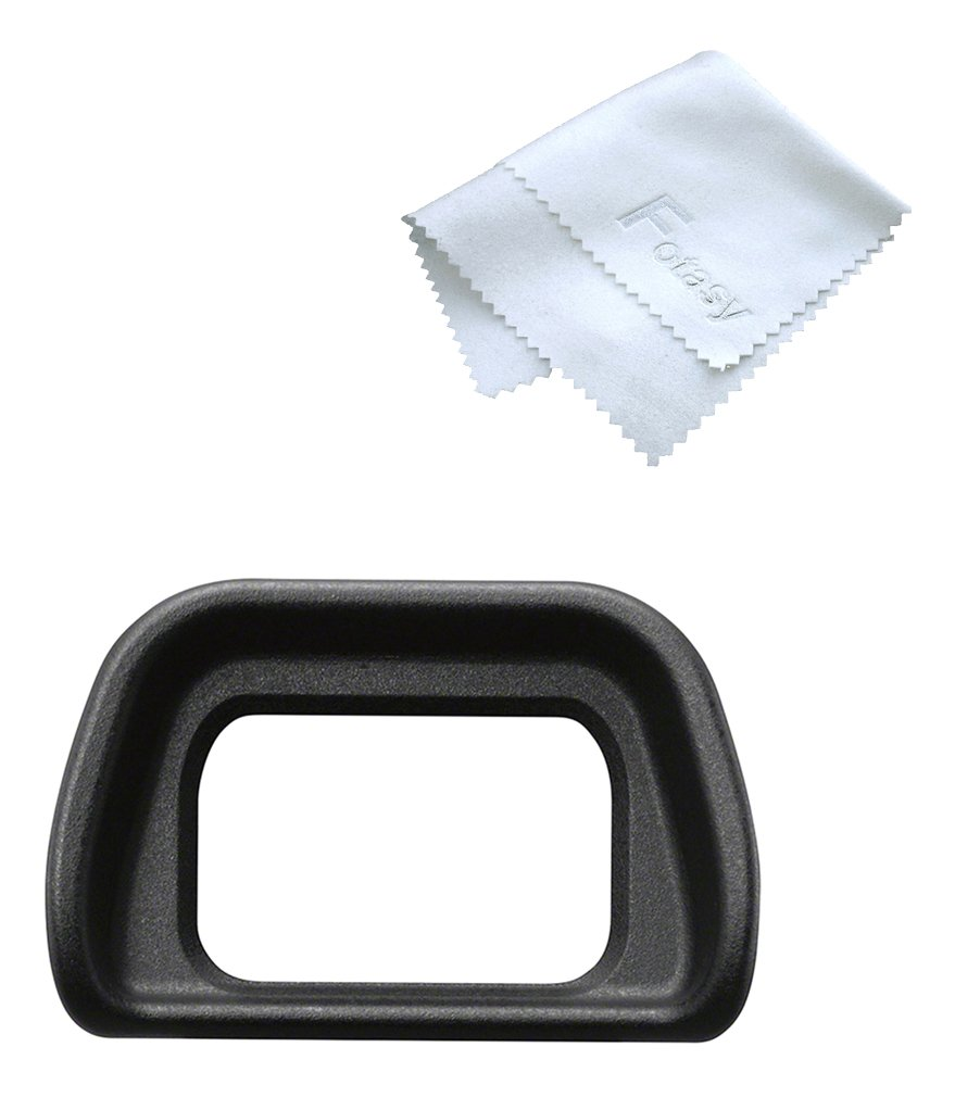 Fotasy ES-EP10 eyecup fits SONY NEX-6/NEX-7/a6000/a6300 digital cameras and FDA-EV1S, replaces SONY FDA-EP10 eyecup