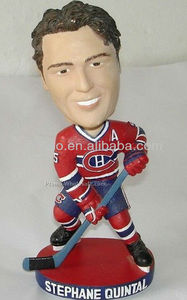 New Hockey Player Bobblehead