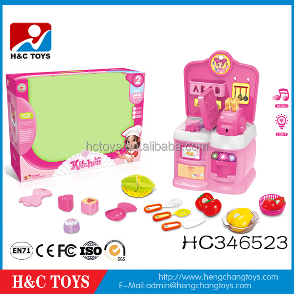 B/O furniture bread machine toy kitchen toy set for kids HC346523