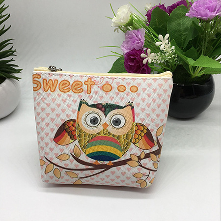 Hot selling handmade alibaba china customized art minds coin purse